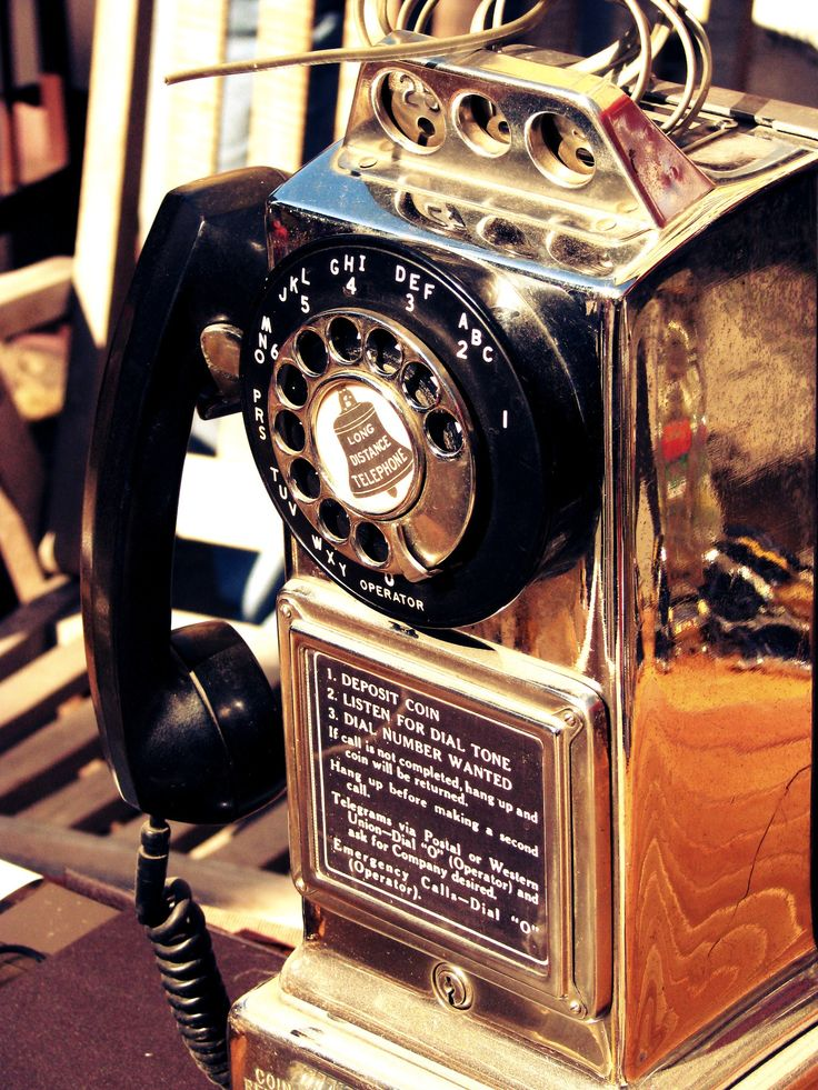 Altes #retro #Telefon vom #Flohmarkt.