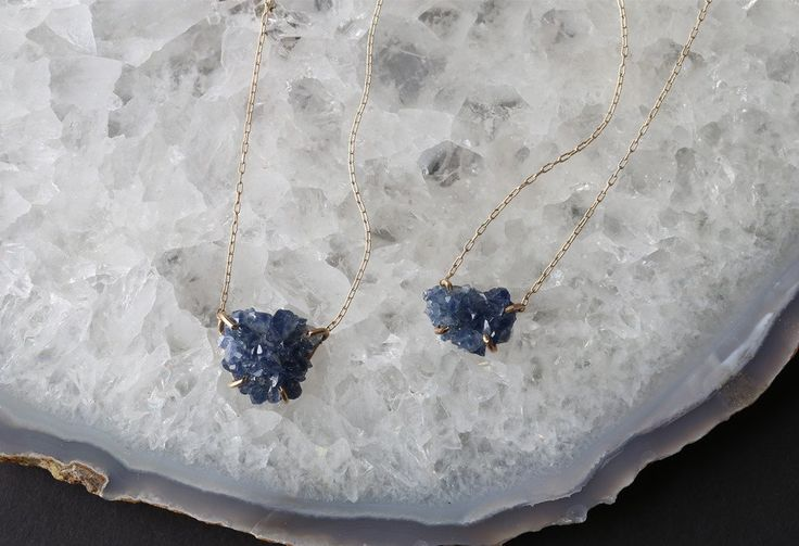 Raw Sapphire Necklace | Alexis Russell