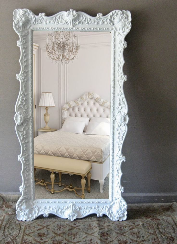Best 25+ Floor mirrors ideas on Pinterest | Large leaning mirror, White bedroom and Large floor ...