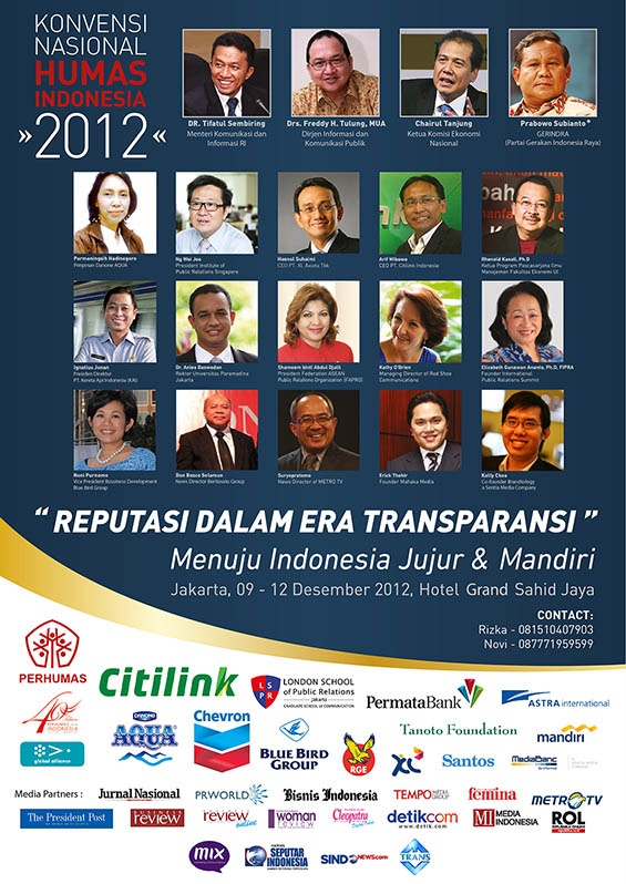 National Convention 2012 Indonesian Public Relations Association