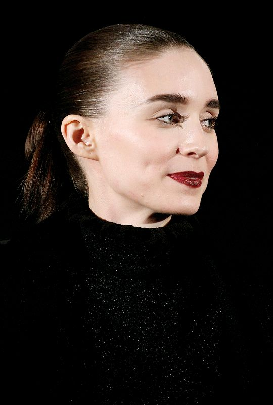 Rooney Mara speaks on stage during the CAROL American Cinematheque Q&A screening held at the American Cinematheque's Egyptian Theatre on January 7, 2016 in Hollywood, California.