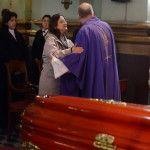 La Gobernadora participó de las exequias del Obispo Emérito Mons. Miani