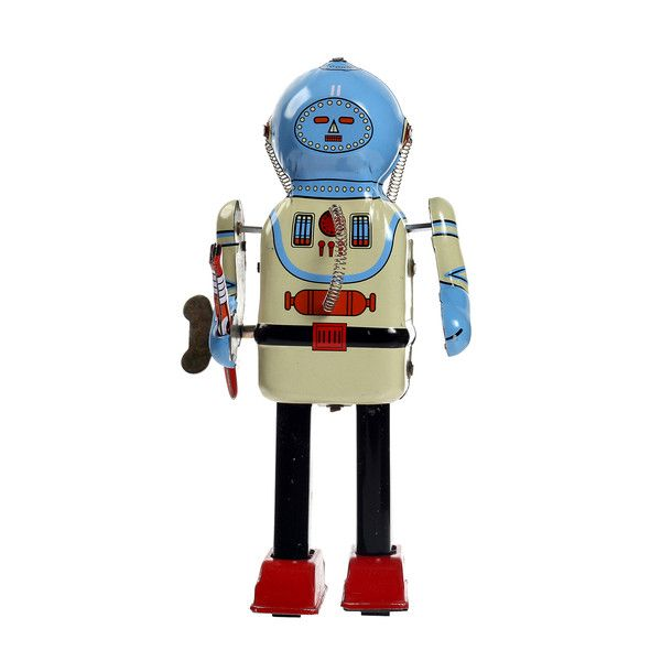 Inter-Planet Space Captain #tin toy