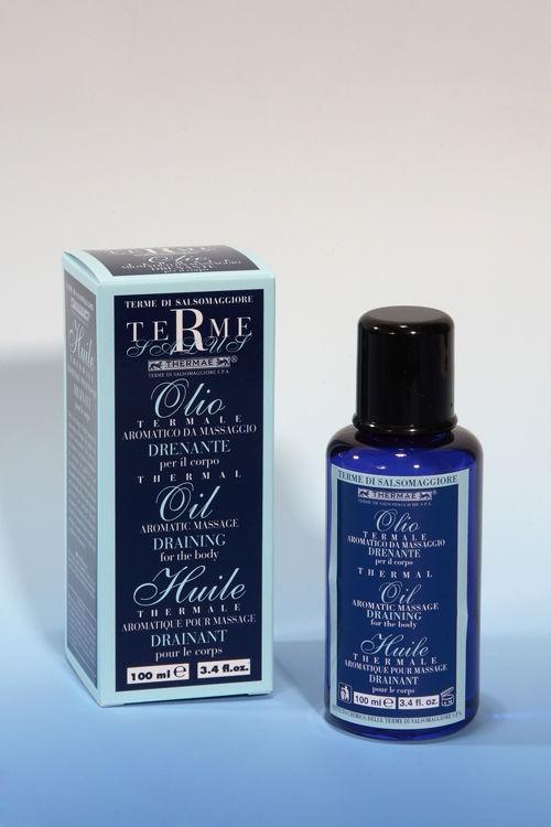 Olio Aromatico Massaggio Drenante 100 ml  Terme di Salsomaggiore