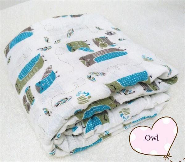 Aden Anais musselina de algodão Aden e Anais Swaddle cobertores toalha de banho recém nascido Multi funções em Cobertor e Faixas - Bebê de Mamãe e Bebê no AliExpress.com | Alibaba Group