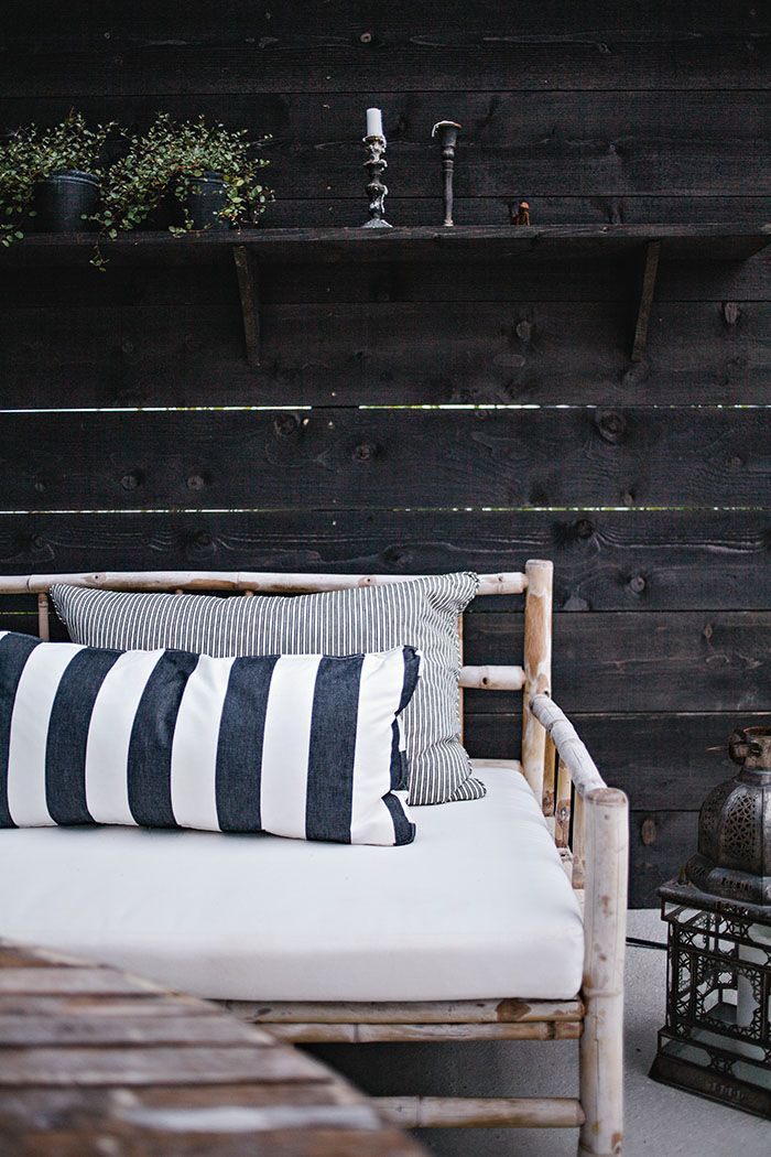 Love this outdoor space at A-M's | Helt enkelt