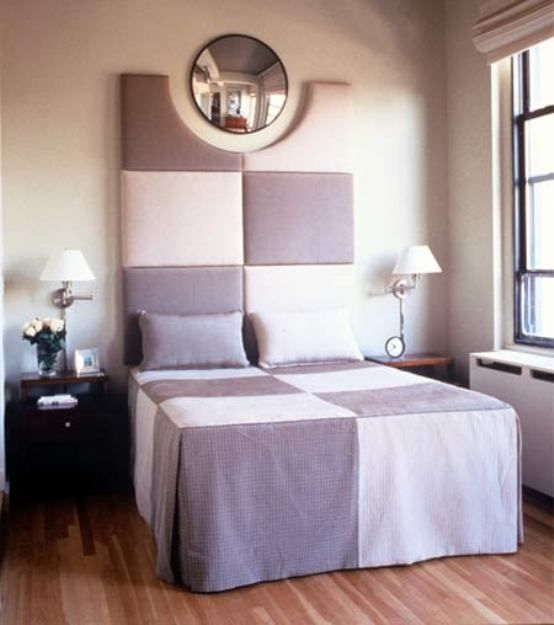 small bedroom makeover with round mirror and wall lamp modern bedroom interior design interior design bedroom ideas home design
