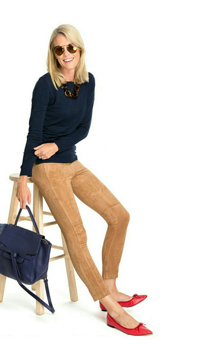 Carrie Camel Pant at Tnuck
