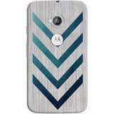 Phone Case: (Moto E 2nd Generation) Blue Arrow | DailyObjects