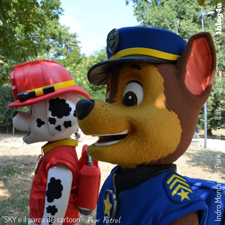#SKY e il parco dei #cartoon : #Paw #Patrol - #Marshall and #Chase - #Keith #Chapman - #Nickelodeon - #CheSpettacolo - #Giardini #Indro #Montanelli , #Milano , #Italy - #Gabriella #Ruggieri for #1blog4u - #Sergio #Bellotti - ph. credit #Vaifro #Minoretti for 1blog4u