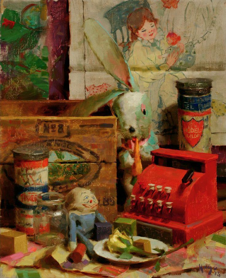 Daniel Keys Childhood - Neil's Toys
