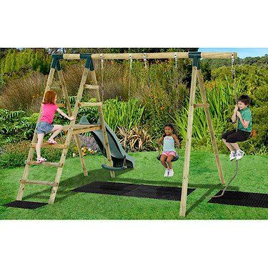 Best 25 wooden garden swing ideas on pinterest garden for Swing set frame only