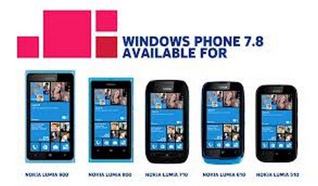 Windows 7.8 for Nokia touchscreen phone