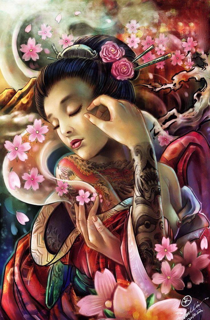 hailin fu geisha