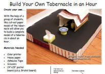 Build your own Tabernacle - Tapestry of Grace Year 1, Week 7
