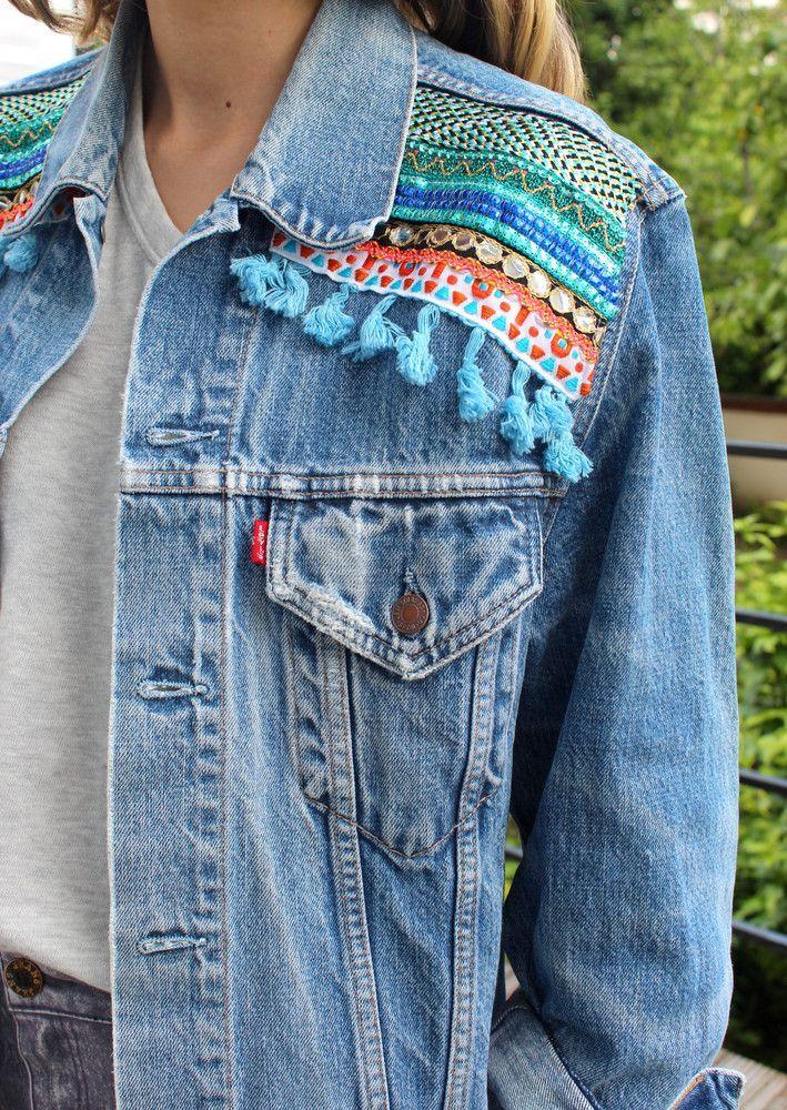 Chaqueta de mezclilla de moda para mujer 2017 estilo