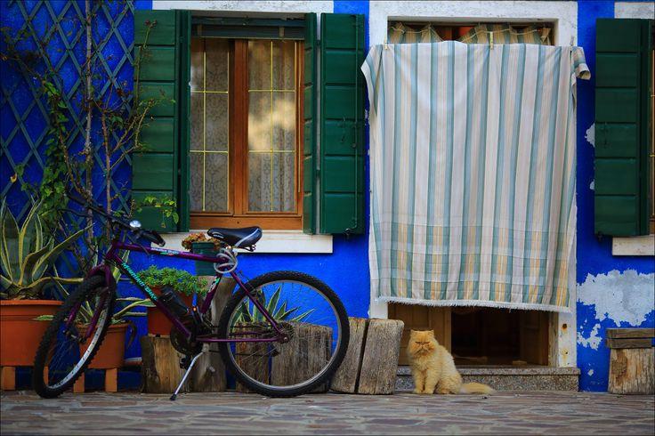 [이탈리아 여행] 형형색색의 골목, 베네치아 부라노섬 | 여행사진닷넷