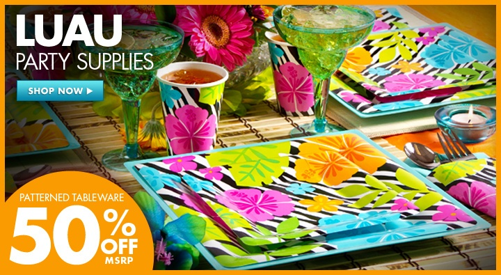 Throw a Hawaiian themed party this summer; complete with flamingo drink swizzlers, luas to welcome your guests and a carved pineapple filled with your favorite fruit centerpeice. Aloha!! That is hello in Hawaiian language. Have fun; remember we only are limited by ourselves. Use your imagination and have fun planning your next get together!!~