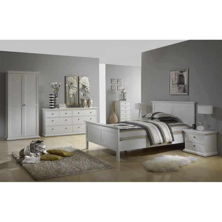 tvilum schlafzimmer paris kommode 8sk wei gnstig kaufen