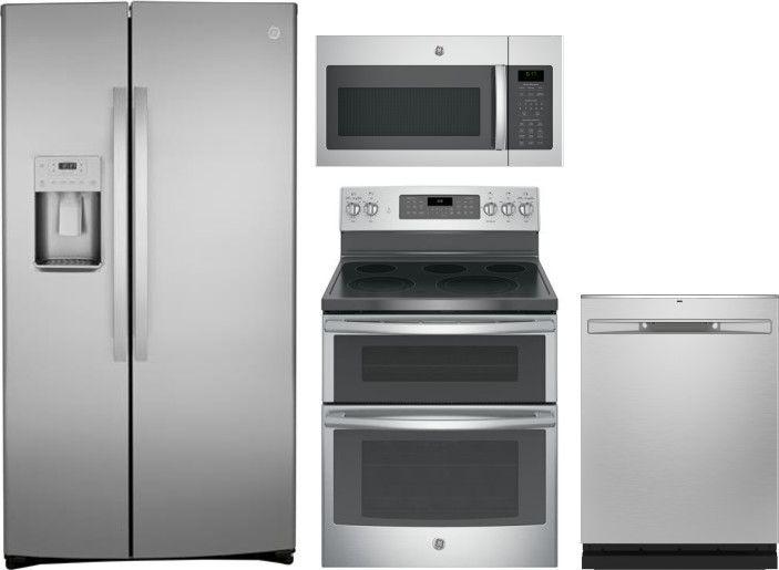 Ge Gereradwmw92300 Kitchen Appliance Packages Kitchen Appliances French Door Refrigerator