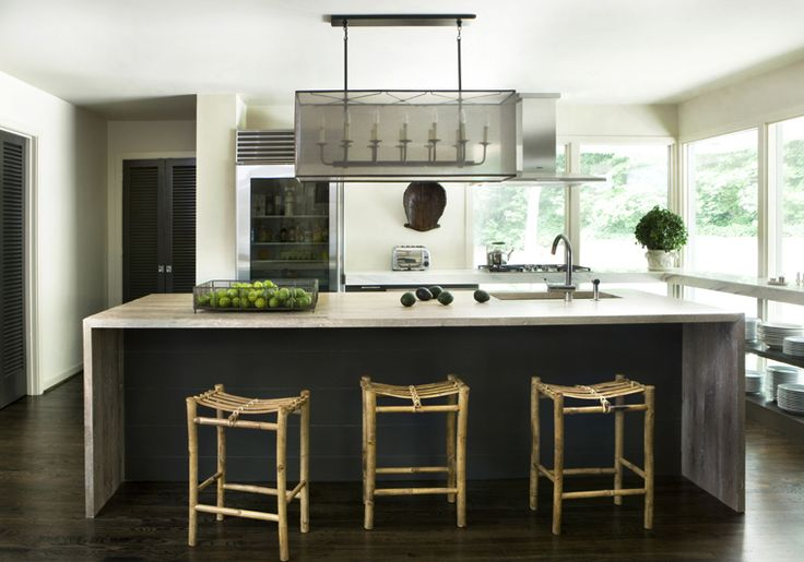 By now I am sure you have figured out how much I adore the work of Bill  Ingram. He keeps his designs pure, rather simple, and well thought out.  Needless to say they are all quite stunning. I have long admired this  kitchen and was quite excited when I came across this article from  Cultivate featuring Bill Ingram and tips he had to share on designing a  kitchen.  photos by Erica George Dines