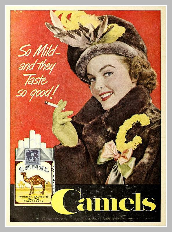 1949 camel ad www.smokefreeelectroniccigarettes.com