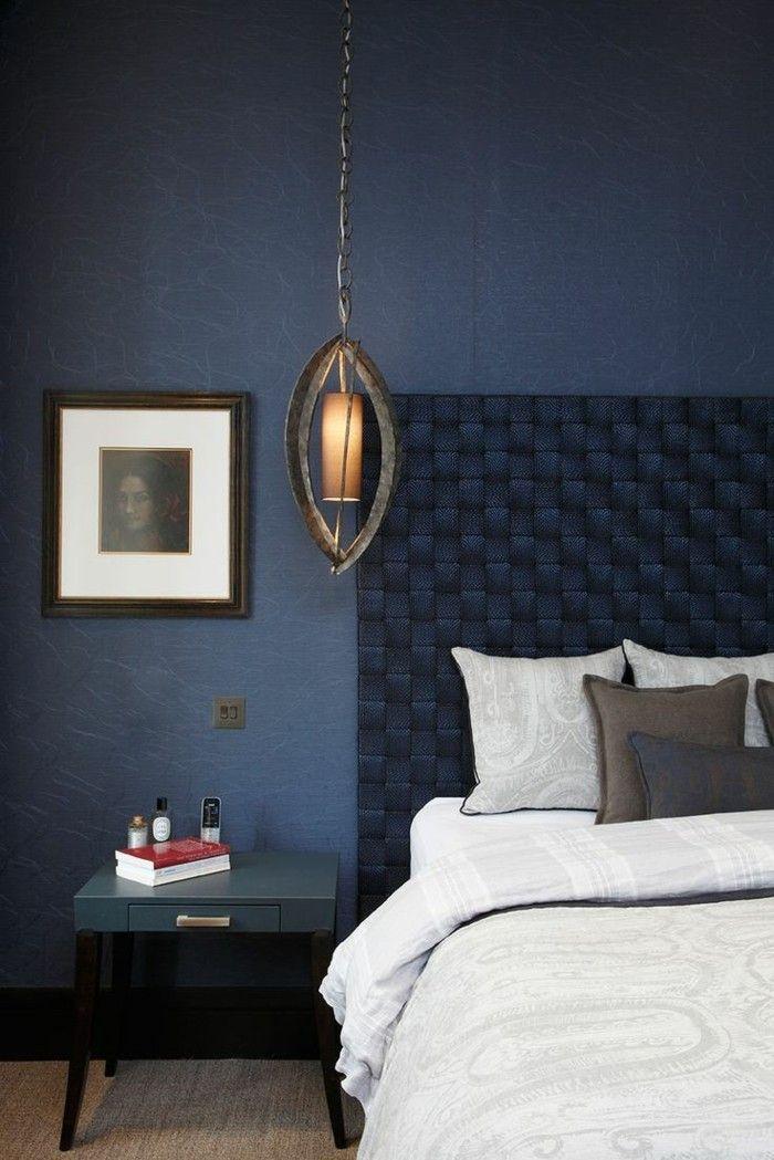 49 best Blue Walls images on Pinterest | Blue walls, Dark interiors ...