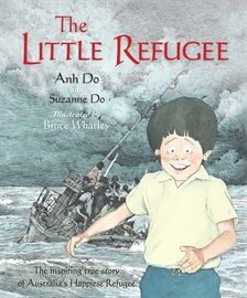 Anh Do and Suzanne Do, illustrated by Bruce Whatley, The Little Refugee (Allen & Unwin). Shortlisted for the Young People's History Prize. More about the awards http://www.sl.nsw.gov.au/about/awards/premiers_awards/index.html