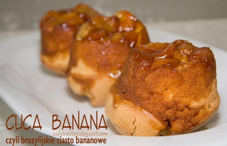 Cuca banana - brazylijskie ciasto bananowe