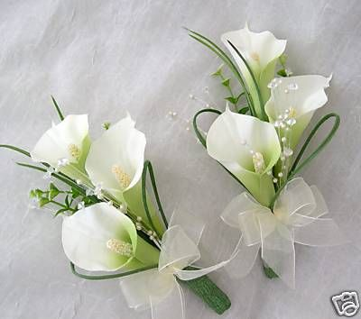 photos of wedding corsages | WEDDING FLOWERS, WEDDING BOUQUETS, BRIDES, CORSAGES - 200479530841
