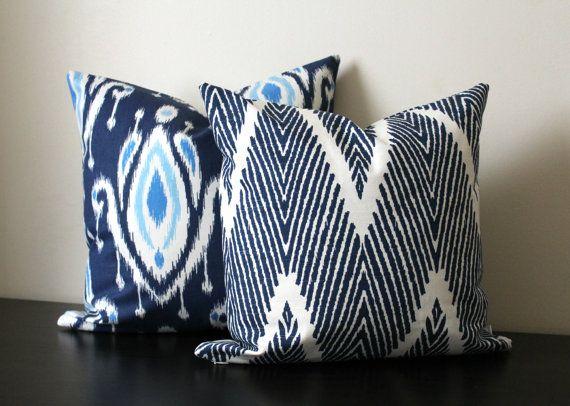 Best 25+ Throw pillow sets ideas on Pinterest Pillow set, Modern throw pillows and Navy blue ...