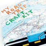 road trip craft kit