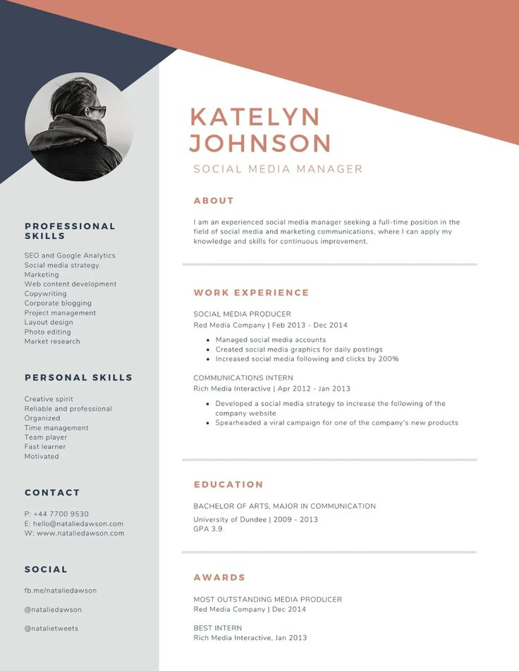 Professional Resume Templates that you can customize for
