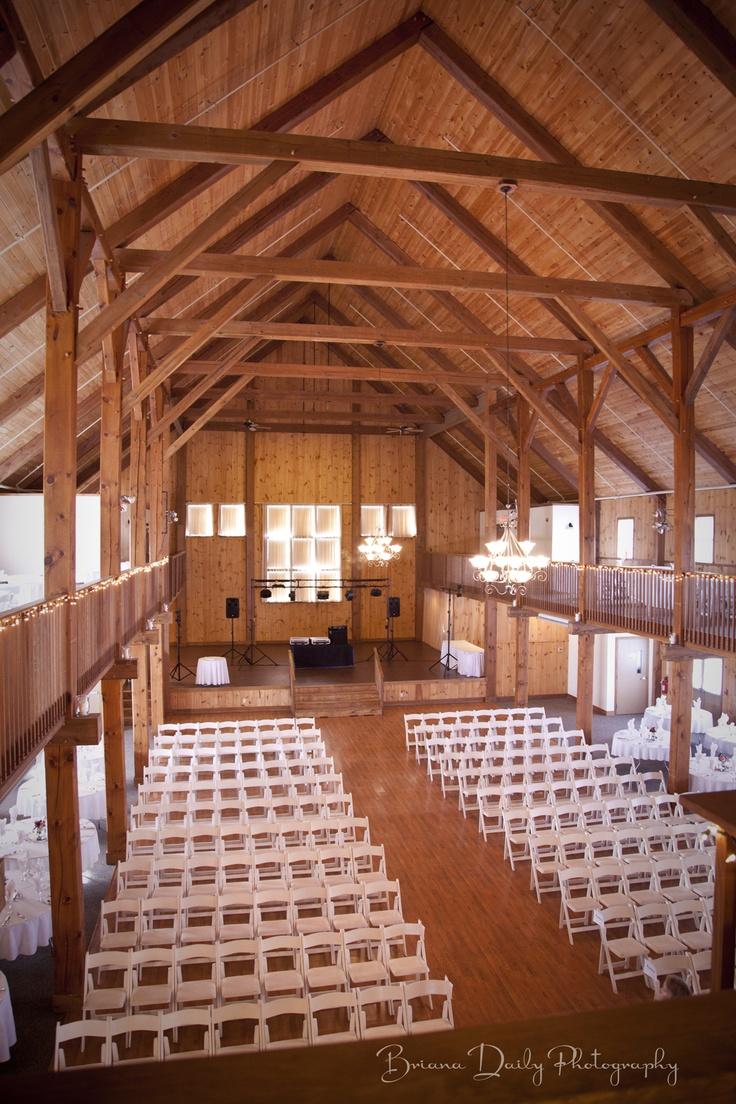 Maine Wedding Venue Morgan Hill Event Center Hampden Setup White Linens Rustic Engagement Engage
