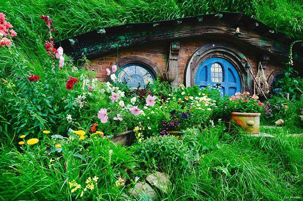 """Hobbiton in Matamata – Im Film Hobbingen im Auenland. Schauplatz """"Herr der Ringe"""" und """"Der Hobbit"""""""