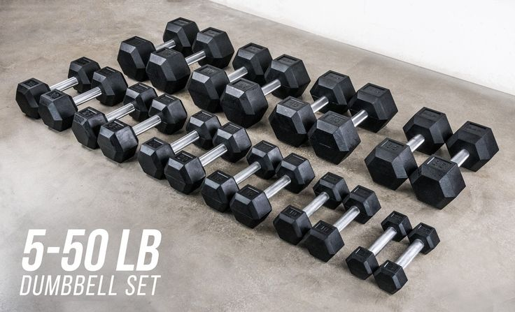 Rep Rubber Hex Dumbbell Sets, 5-50 Dumbbell Set, 55-75 Dumbbell Set, 80-100 Dumbbell Set, 5-100 Dumbbell Set  maybe want