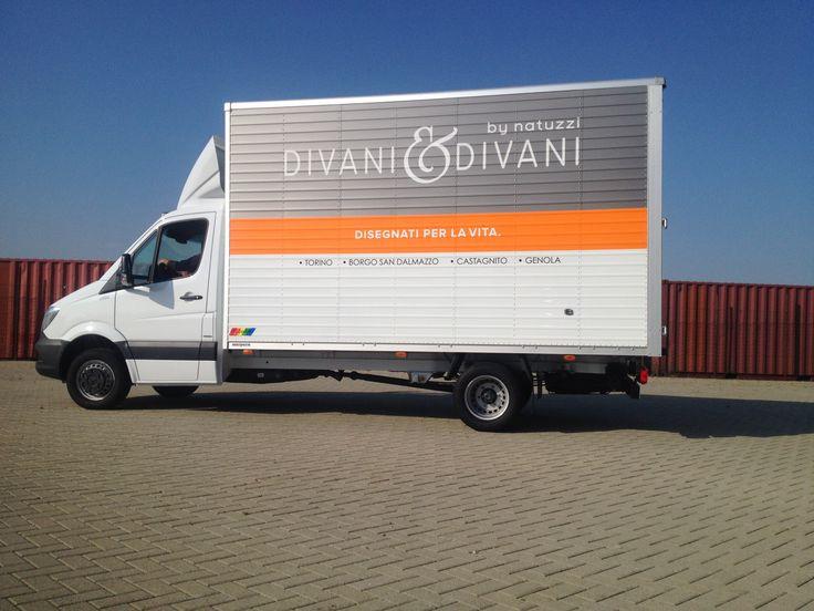 Cliente: DivaniDivani  #Wrapping #Truck #3m