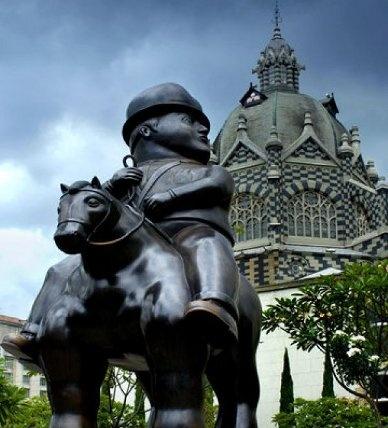 Es el centro en Medellin Columbia. Tiene es bonito.