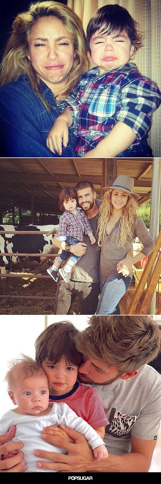 22 Times Shakira and Gerard Piqué Gave Us Major Family Goals