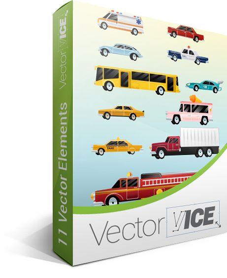 Cars Vector Pack truck vector, bus vector, auto vector, taxi vector, ambulance vector, transport vector, police car vector, automotive vector, vector truck, vector bus, vector automotive, vector transport, truck vector free http://www.vectorvice.com/cars-vector
