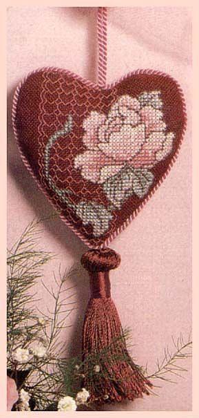 Heart Ornament ( would make a cute sachet )  :)