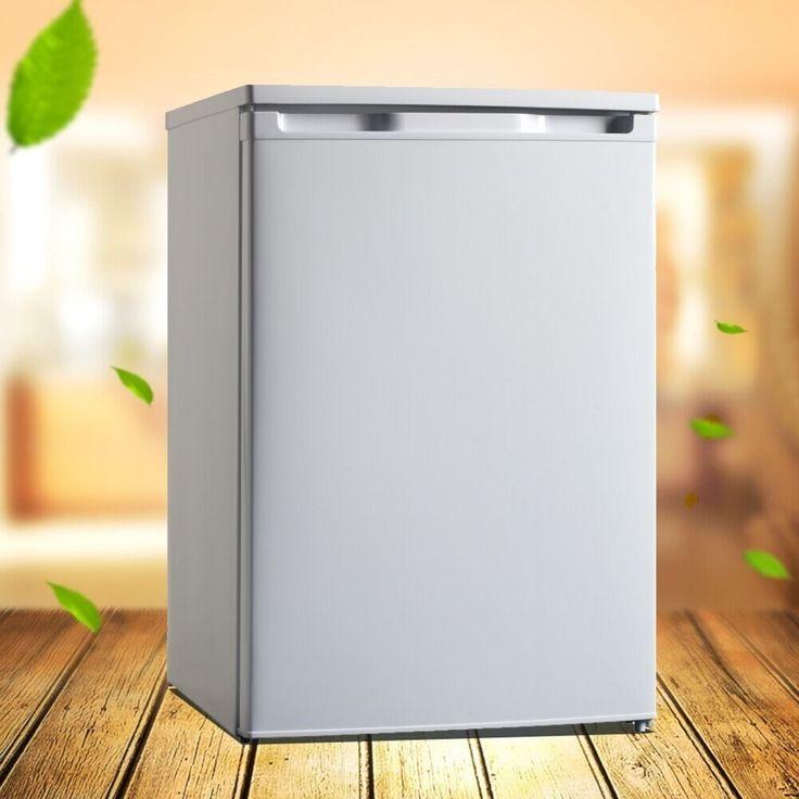 295.20$  Buy now - http://ali7fd.worldwells.pw/go.php?t=32791939050 - Smad 3.5 cu ft Mini Portable Compressor Refrigerator 220V 50Hz Manual Defrost Freestanding Fridge Freezer for Home Restaurant