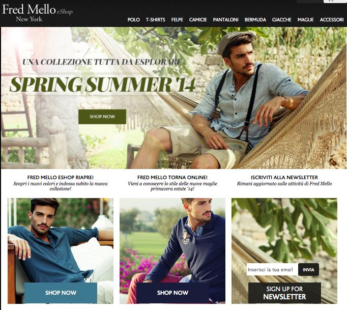 SHOPPING ONLINE  Fred Mello ss14_collection #marianodivaio #ss14 #fredmello #fredmello1982 #newyork #advcampaign#ss14#accessibleluxury #cool #usa #mancollection