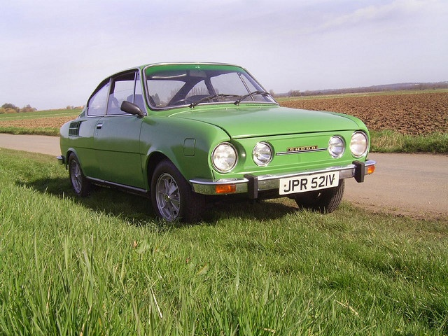 S110R Coupe by Skoda, vintage Czech motoring.