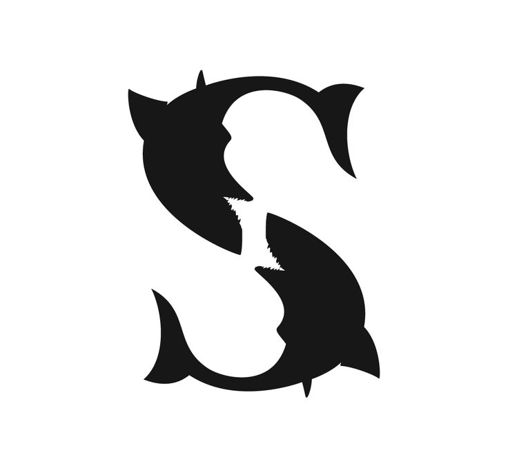 www.linedesign.be - Logo White Shark