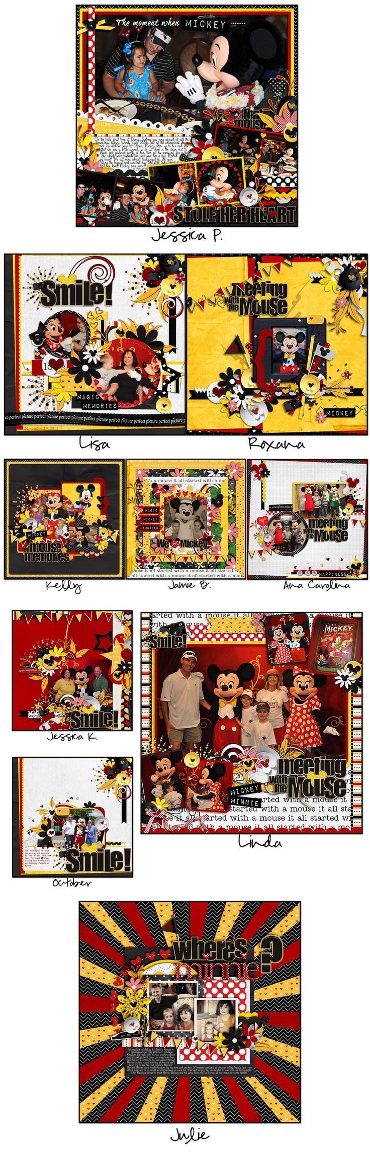 Disney scrapbook ideas - Disney Scrapbooking