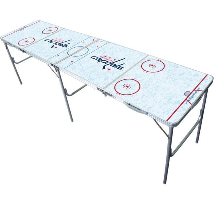 Wild Sports Washington Capitals 2' x 8' Tailgate Table, Team