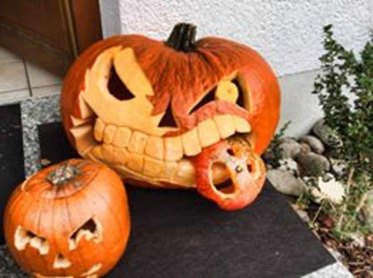 Kürbisse Sind Nicht Nur Eine Schöne Dekoration Im Herbst, Sie Bringen Auch  Noch Richtig Viel Spaß Mit Sich. Schmücken Sie Ihre Wohnung, Ihr Haus Oder  Ihren ...