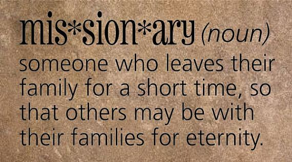 quotes+that+define+class | Definition of an LDS Missionary - Vinyl Wall Quotes & Lettering for ...