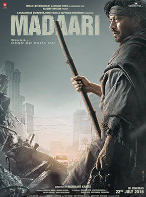 Madaari Hindi Movie Online - Irrfan Khan, Vishesh Bansal, Jimmy Shergill, Tushar Dalvi, Nitesh Pandey and Sadhil Kapoor. Directed by Nishikant Kamat. Music by Vishal Bhardwaj. 2016 [UA] ENGLISH SUBTITLE